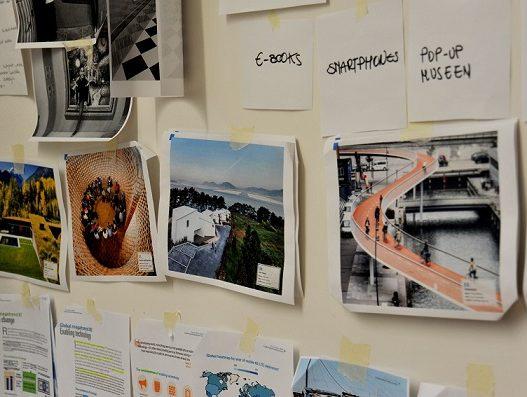 Galerie des Wissens - Trend Wall