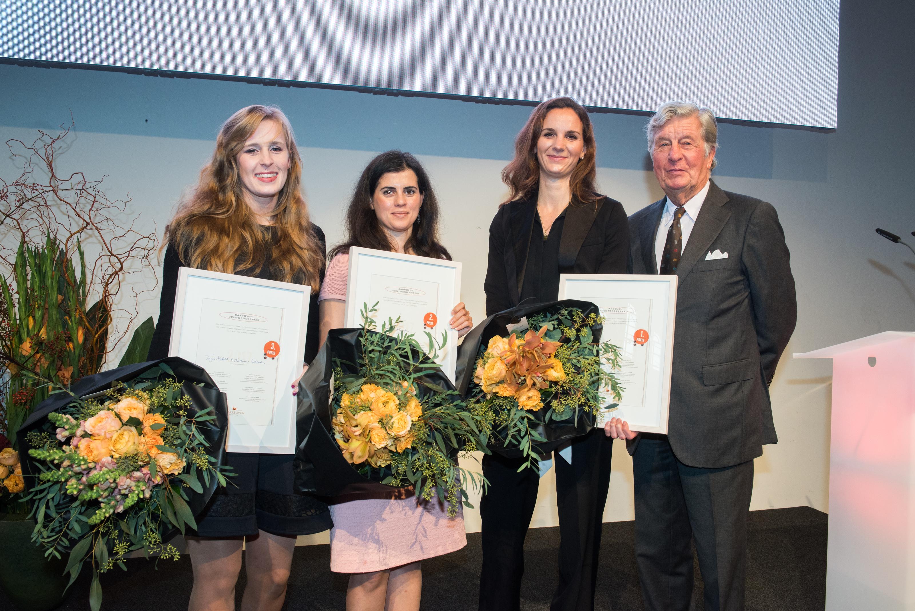 Darboven IDEE-Förderpreis 2017 – innovative Gründerinnen im Scheinwerferlicht